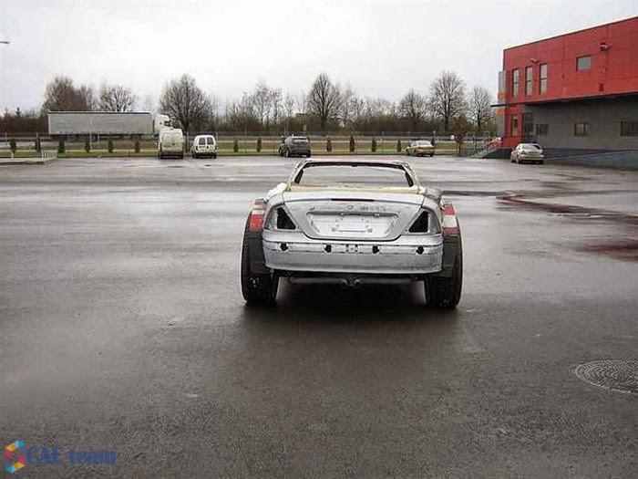 تعديل السيارات القديمة : صورة للسيارة قبل بدء تعديلها