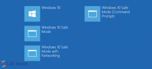 safe mode in windows 10 and windows8