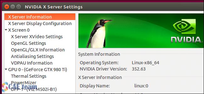 ubuntu cae 1